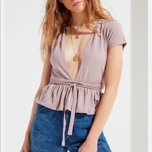 Urban Outfitters lavender shirt